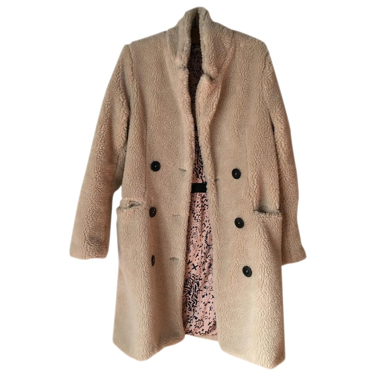 Zadig & Voltaire \N Beige coat for Women 36 FR