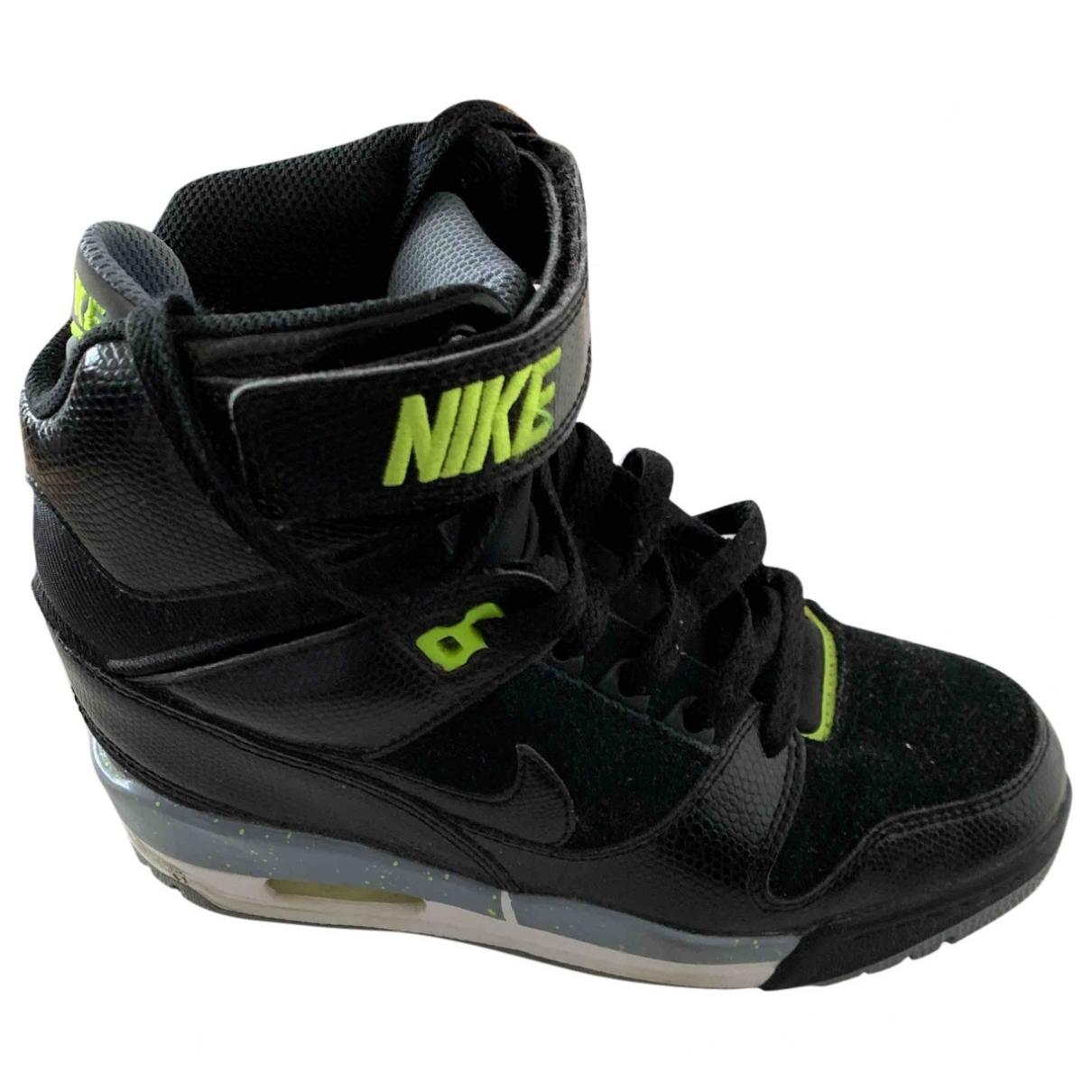 Deportivas Air Max  de Charol Nike