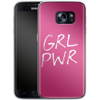 Samsung Galaxy S7 Silikon Handyhuelle - GRLPWR von caseable Designs