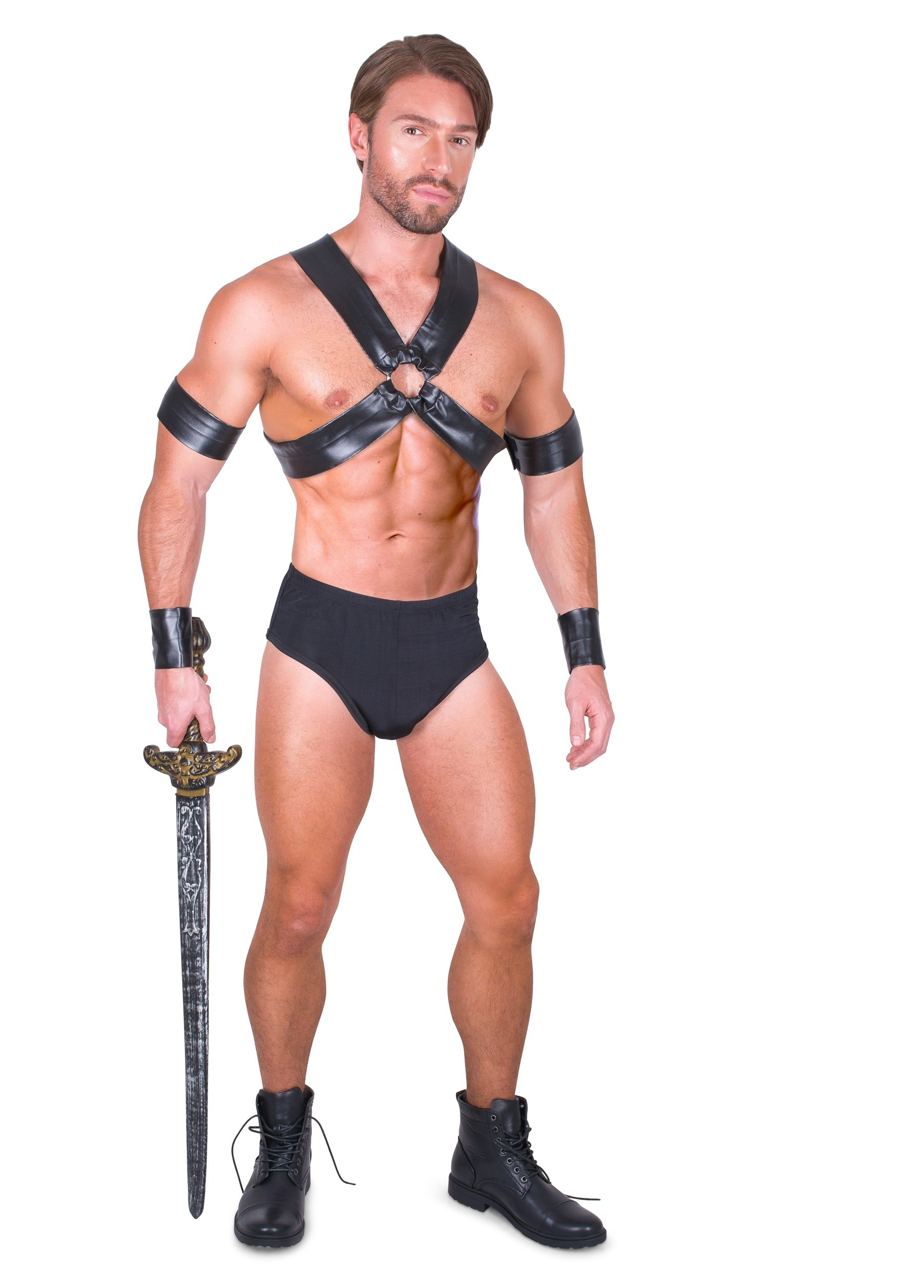Sexy Gladiator Mens Costume