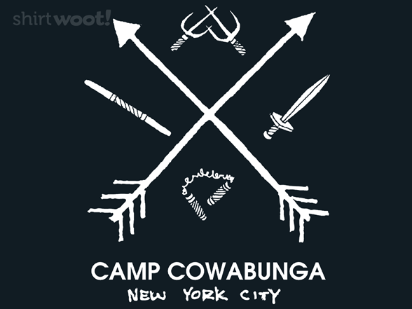Camp Cowabunga T Shirt