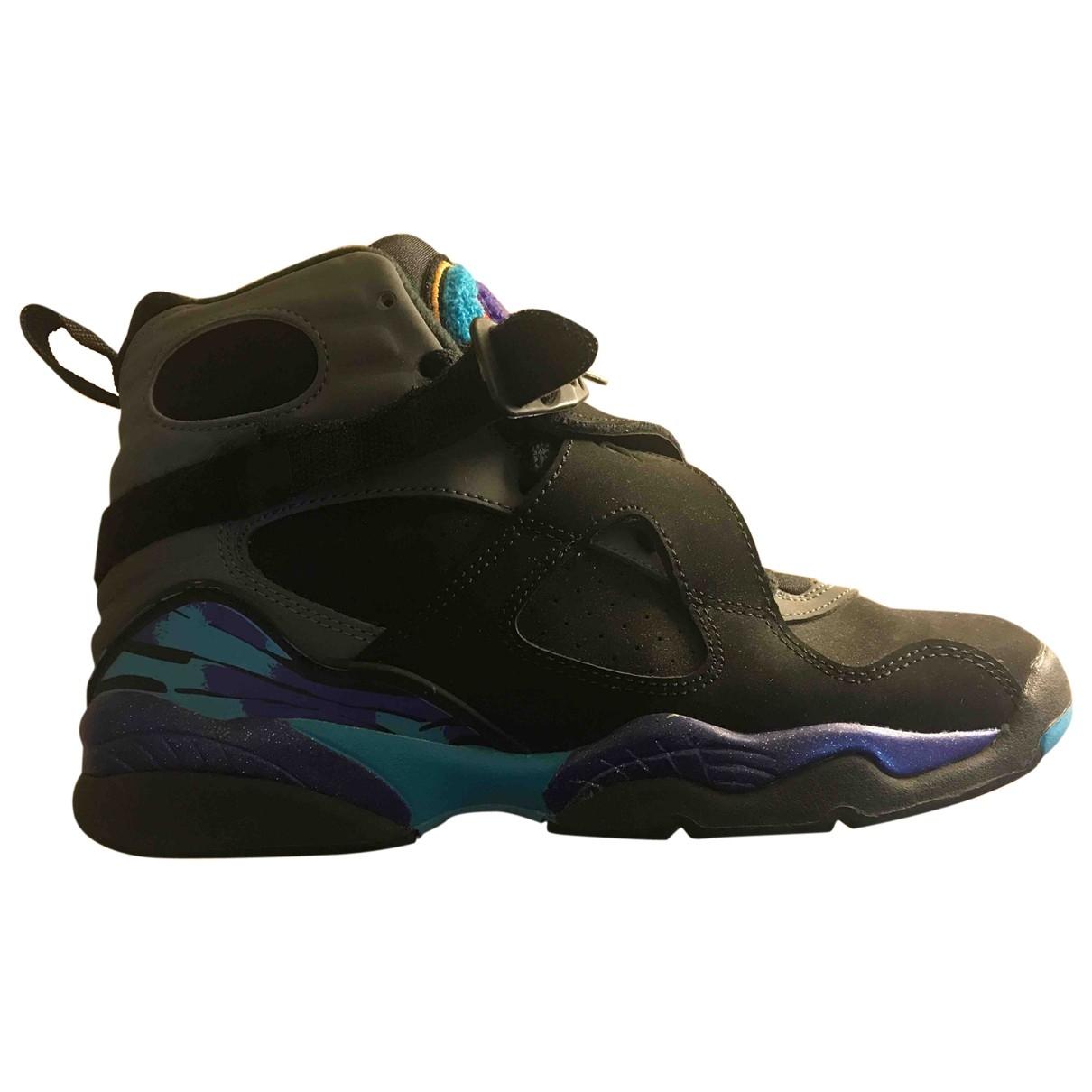 Jordan - Baskets Air Jordan 8 pour femme en toile - multicolore