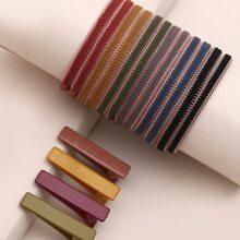 16 Stuecke Bunte Haarklammer & Haarband