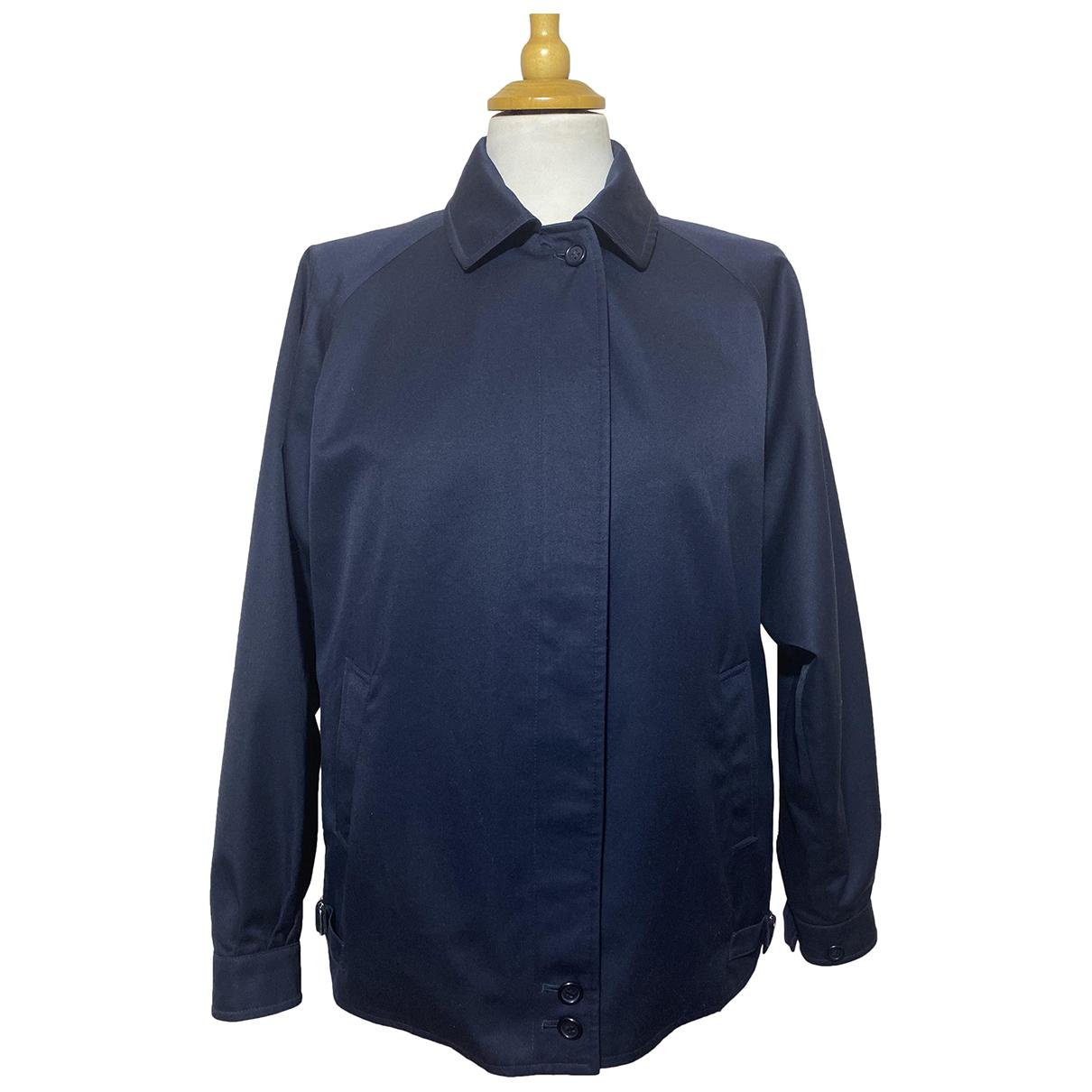 Burberry N Blue Cotton jacket  for Men S International