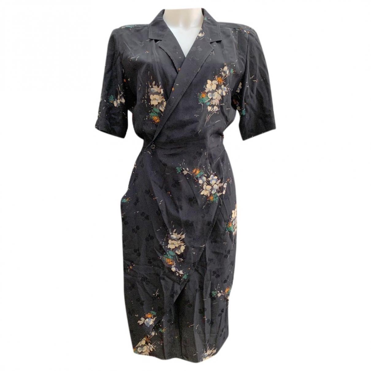 Fendi \N Black Silk dress for Women 42 IT