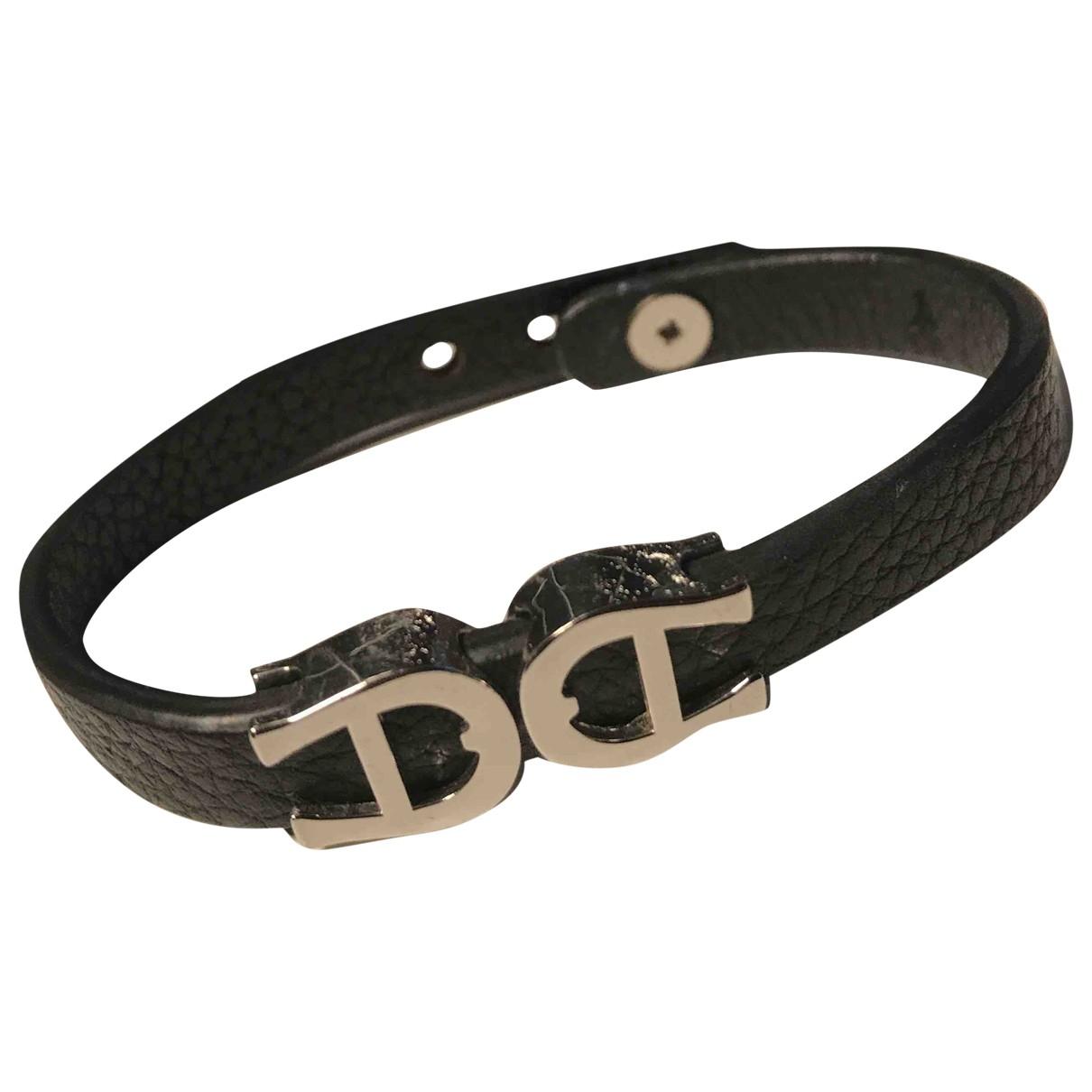 Aigner \N Armband in  Schwarz Leder