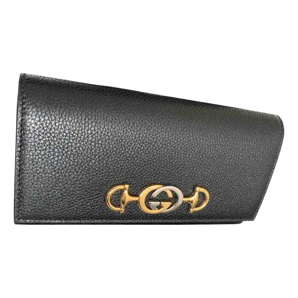 Gucci Zumi Black Leather wallet for Women \N
