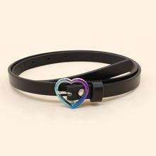 Heart Metal Buckle Belt