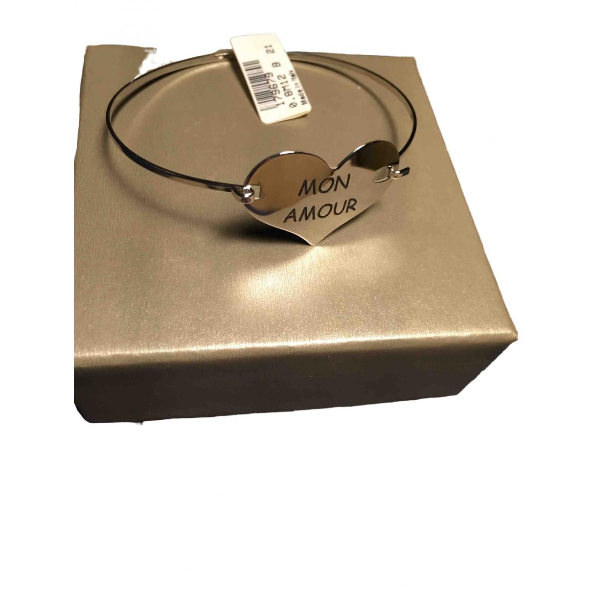 - Bracelet Motifs Coeurs pour femme en argent - dore