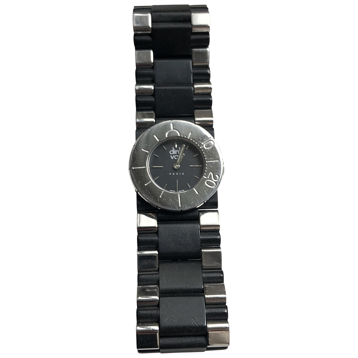 Dinh Van \N Uhr in  Silber Stahl