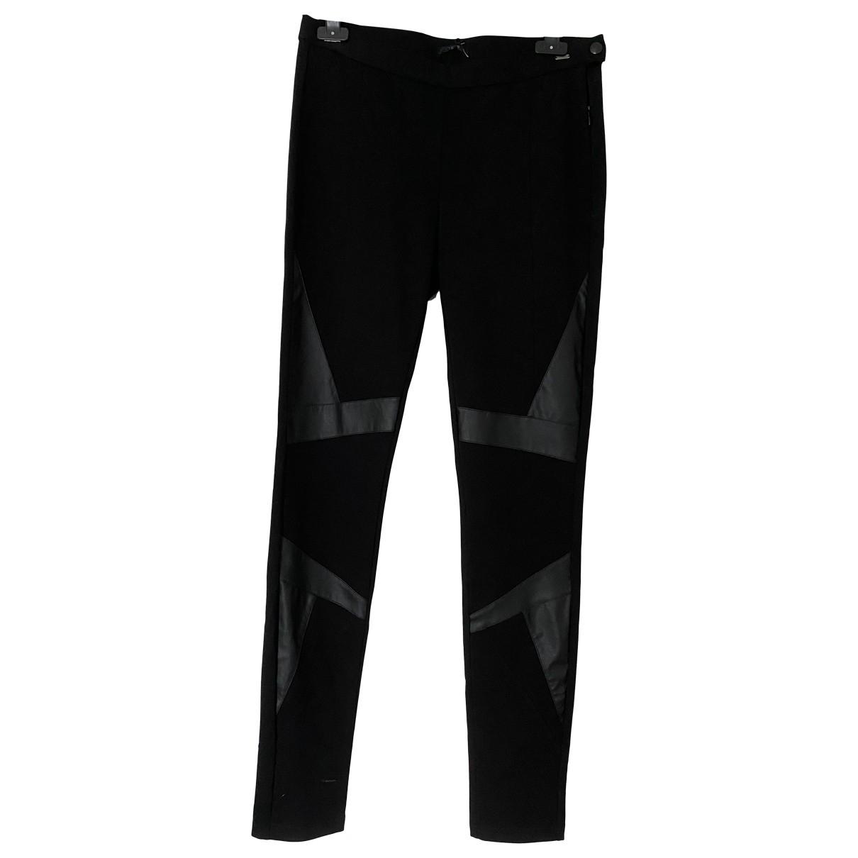 Ikks \N Black Trousers for Women 40 FR