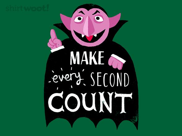 Every Second Counts T Shirt