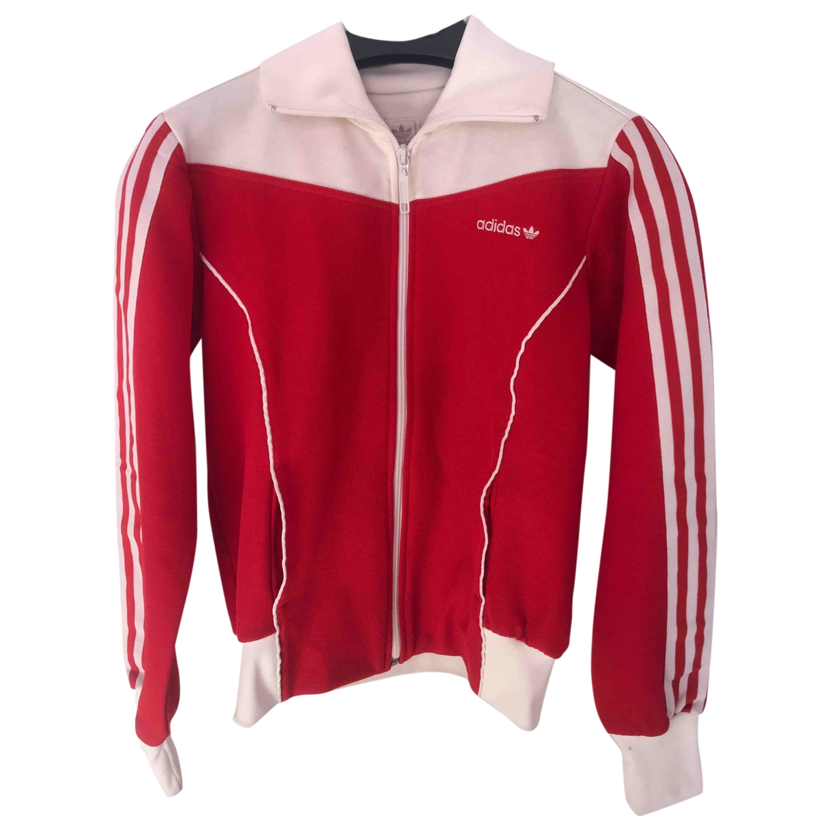 Adidas \N Red Cotton Knitwear for Women 12 UK
