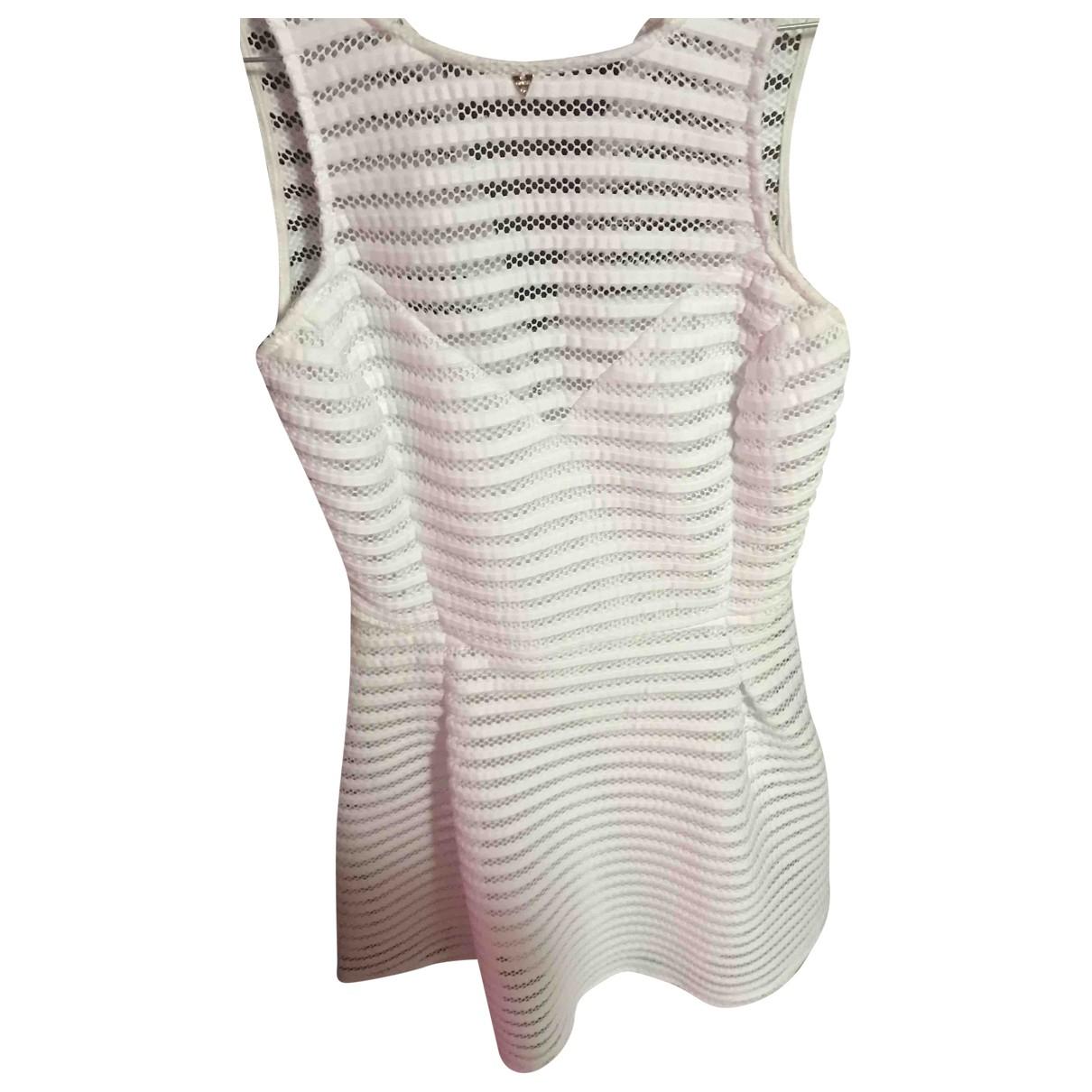 Guess \N White Cotton dress for Women 32 FR