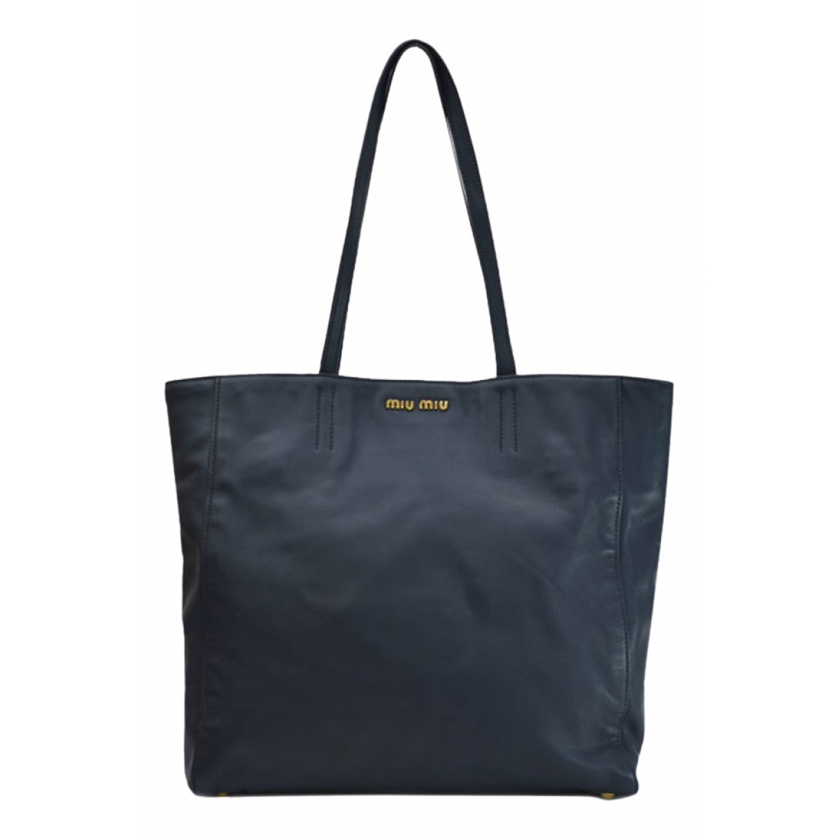 Miu Miu \N Navy Cloth handbag for Women \N