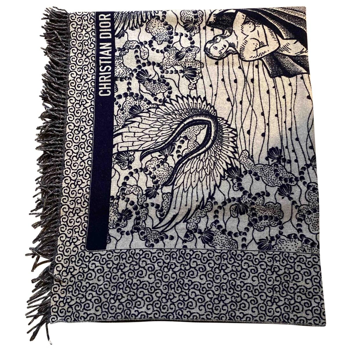 Dior \N Schal in  Bunt Wolle