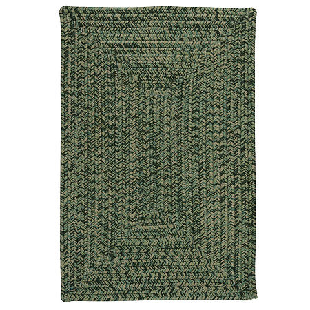 Colonial Mills Dennisport Braided Rectangular Reversible Indoor/Outdoor Rugs, One Size , Green