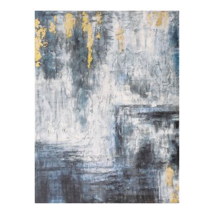 Gold Serenity Collection FX-1203-37 Wall Decor with Acrylic Paint in Multicolor