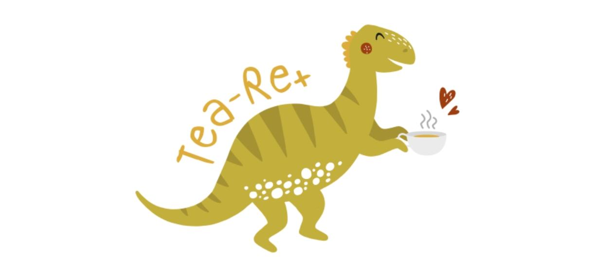 Pets + Animals 11oz Hidden Picture Mug, Gift -Tea Rex