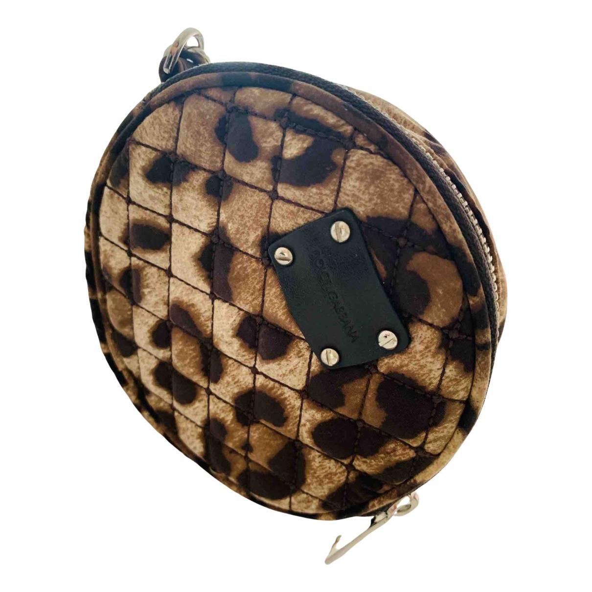 Dolce & Gabbana N Beige Cloth Clutch bag for Women N