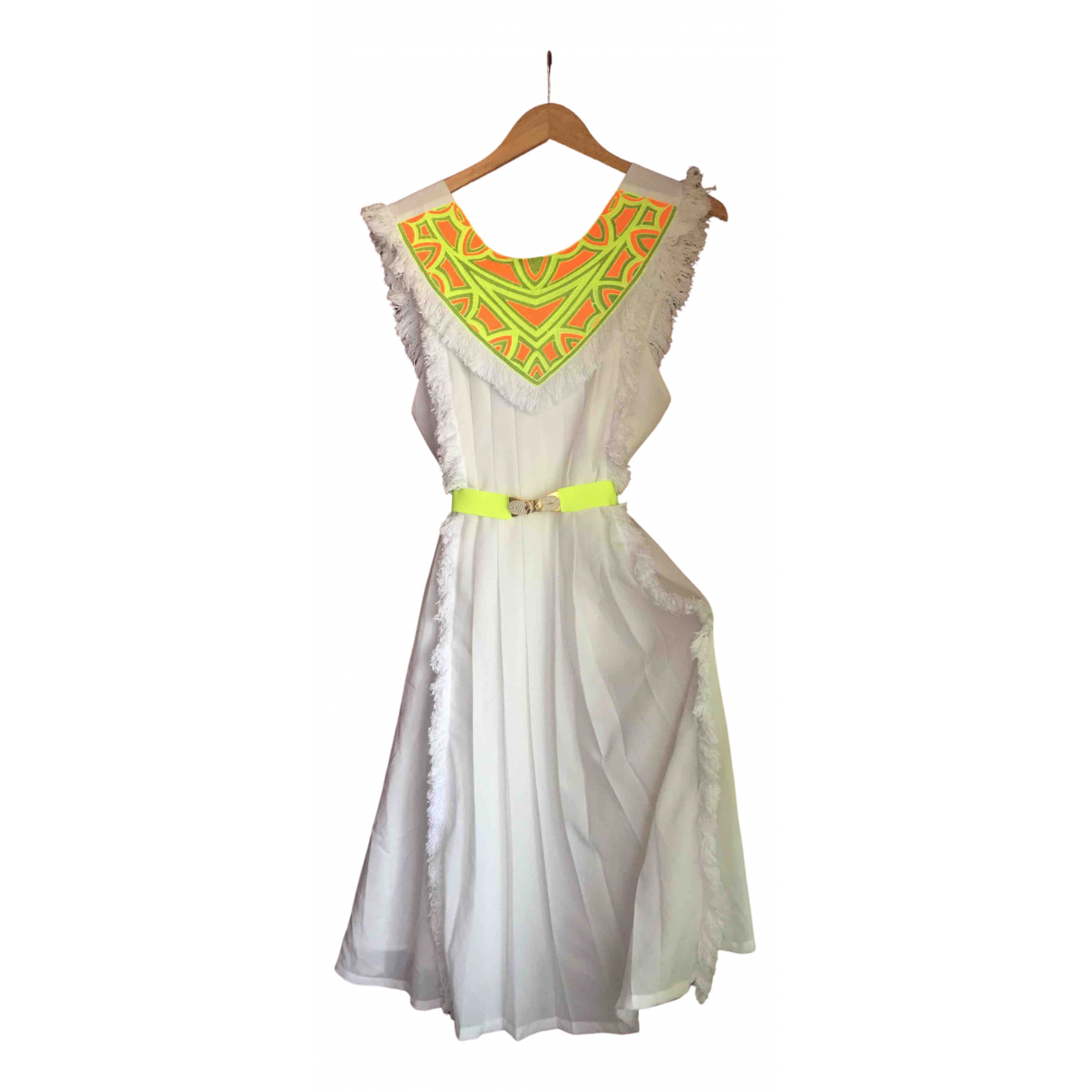 Manoush - Robe   pour femme - blanc