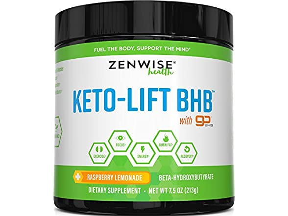 Zenwise Health Keto Bhb Salts Supplement