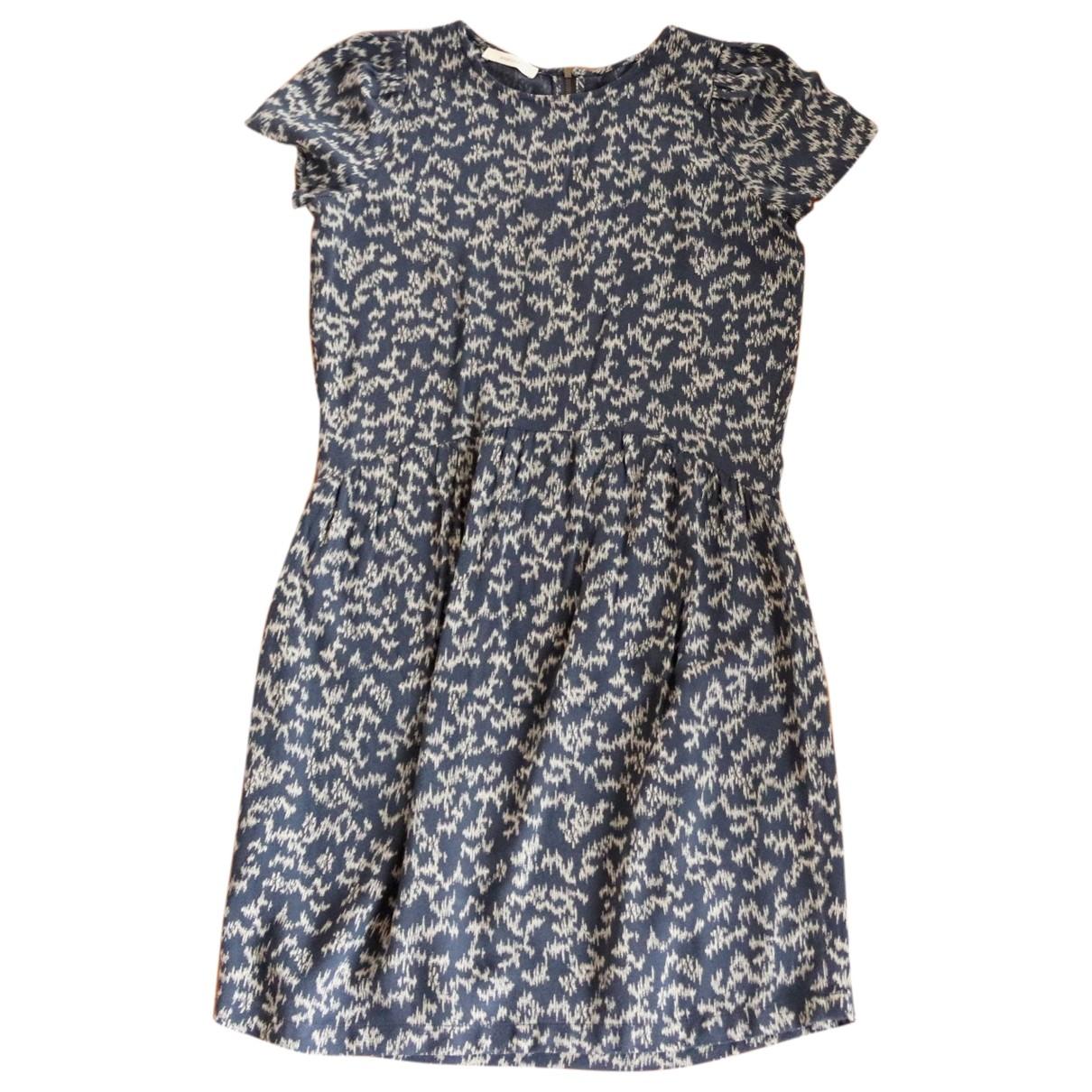 Sessun \N Kleid in  Blau Viskose