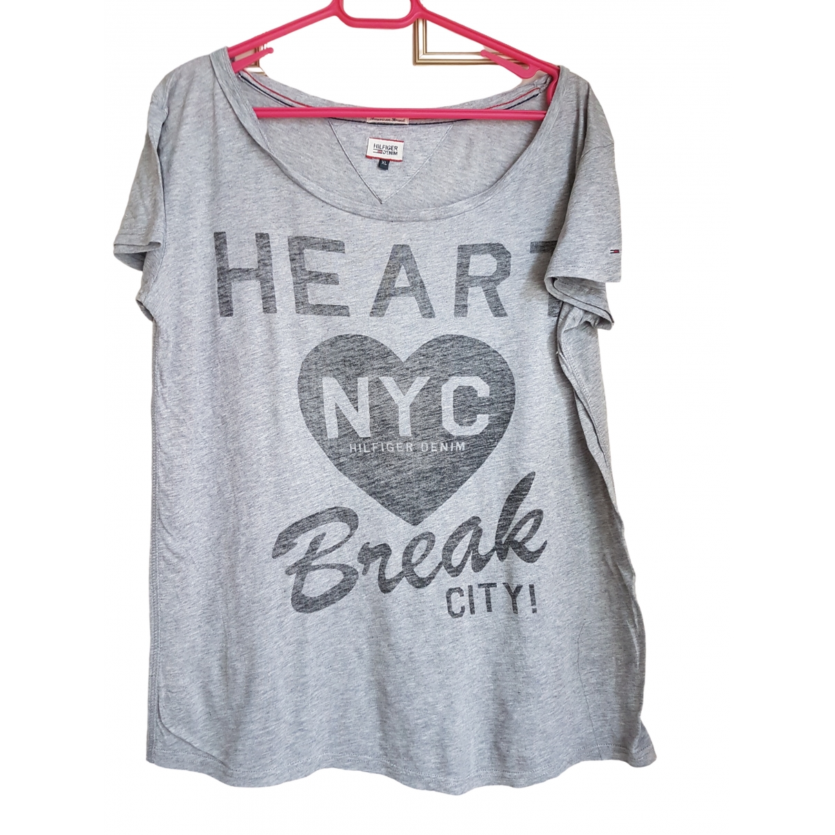 Tommy Hilfiger \N Grey Cotton  top for Women 40 FR