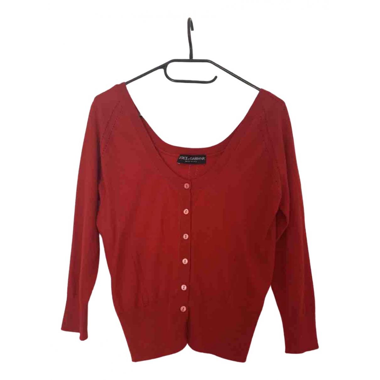 Dolce & Gabbana \N Pullover in  Rot Kaschmir