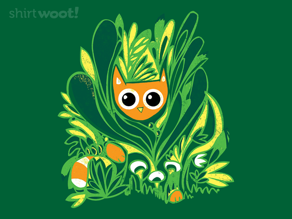 Cat In The Wild T Shirt