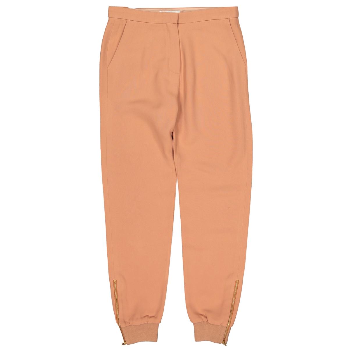 Chloé \N Brown Trousers for Women 36 FR