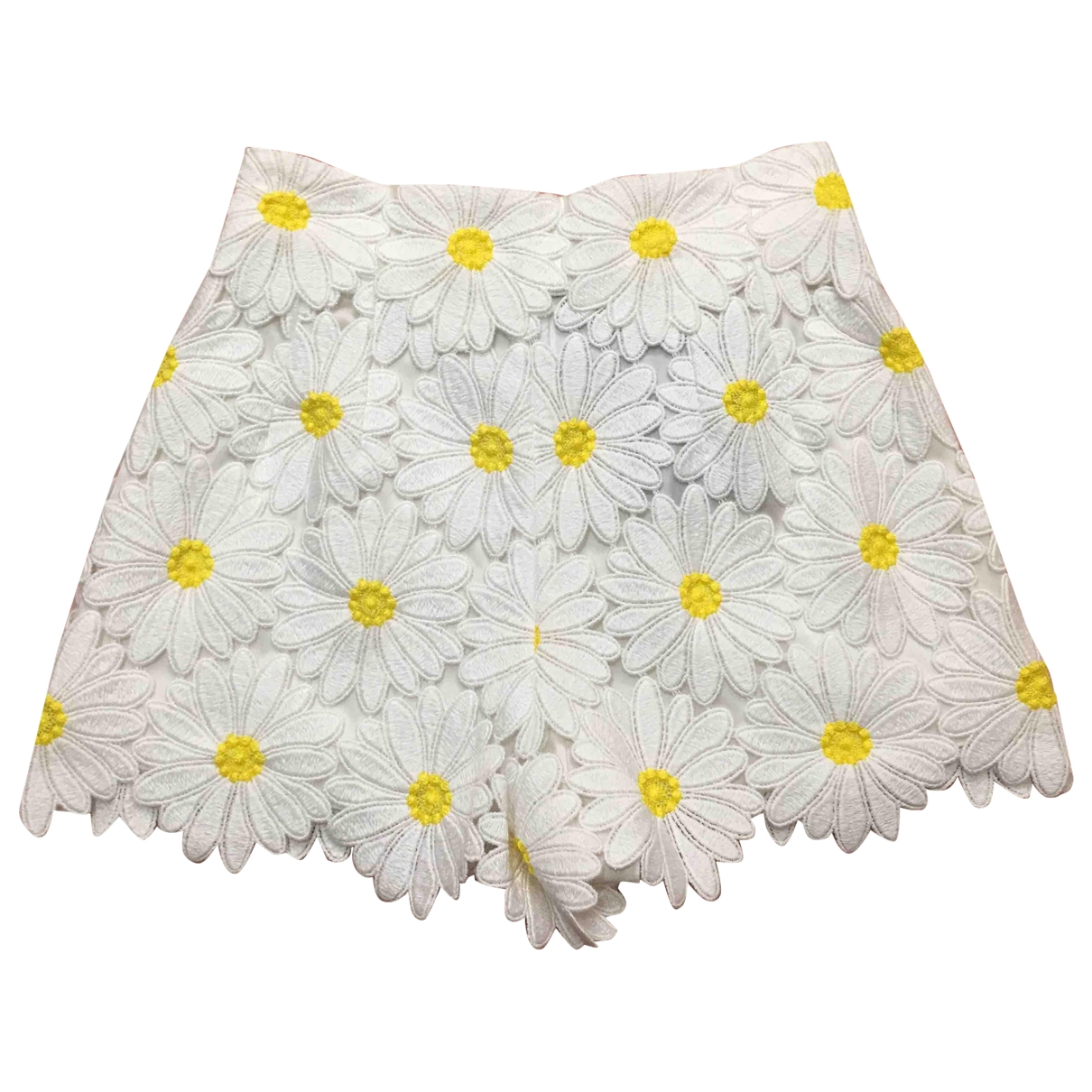 Dolce & Gabbana \N White Cotton Shorts for Women 38 IT
