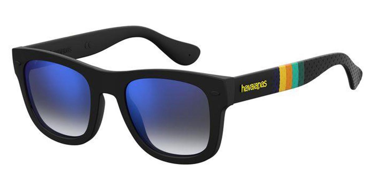 Havaianas PARATY/S KVF/KM Men's Sunglasses Black Size 48