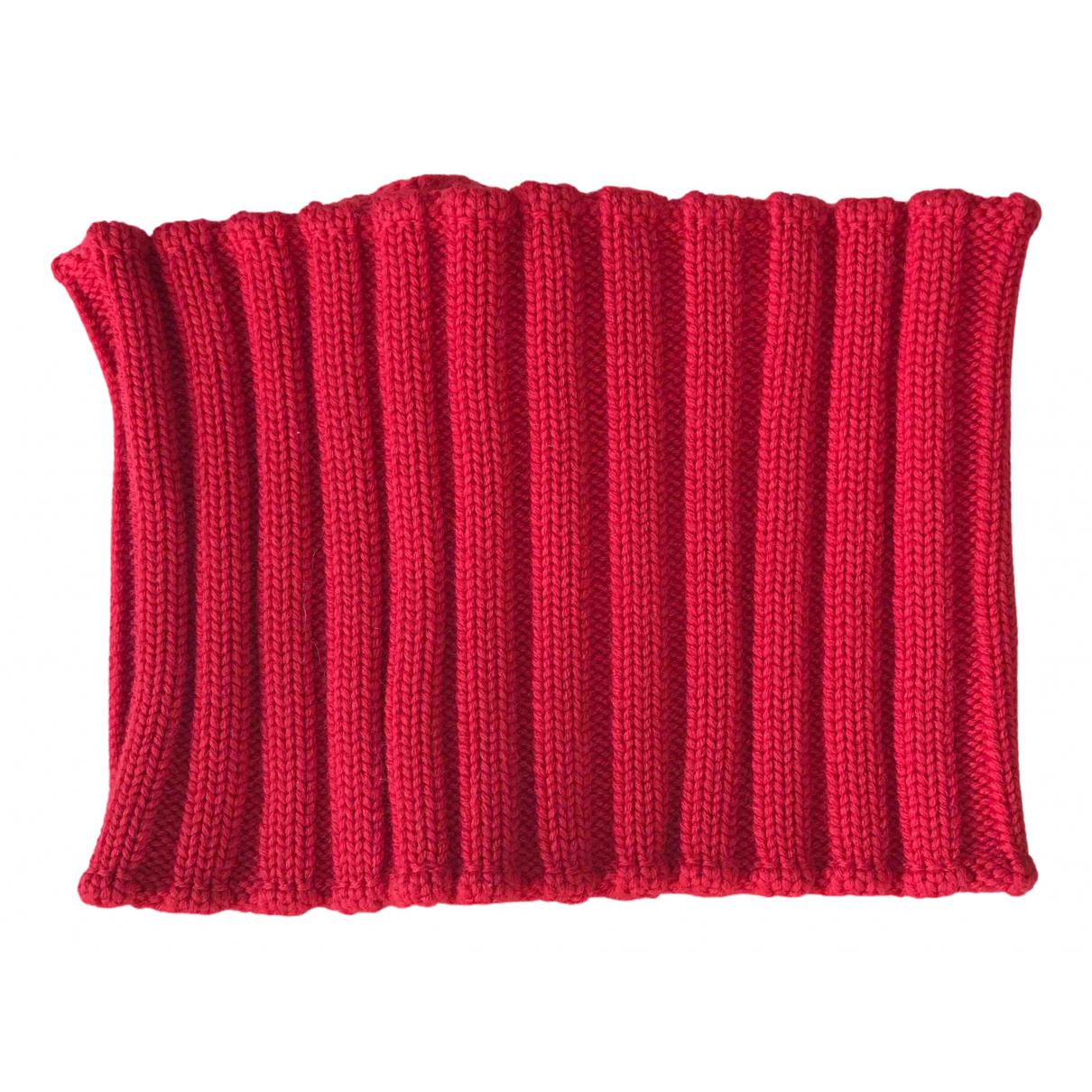 Versace - Foulard   pour femme en cachemire - rouge