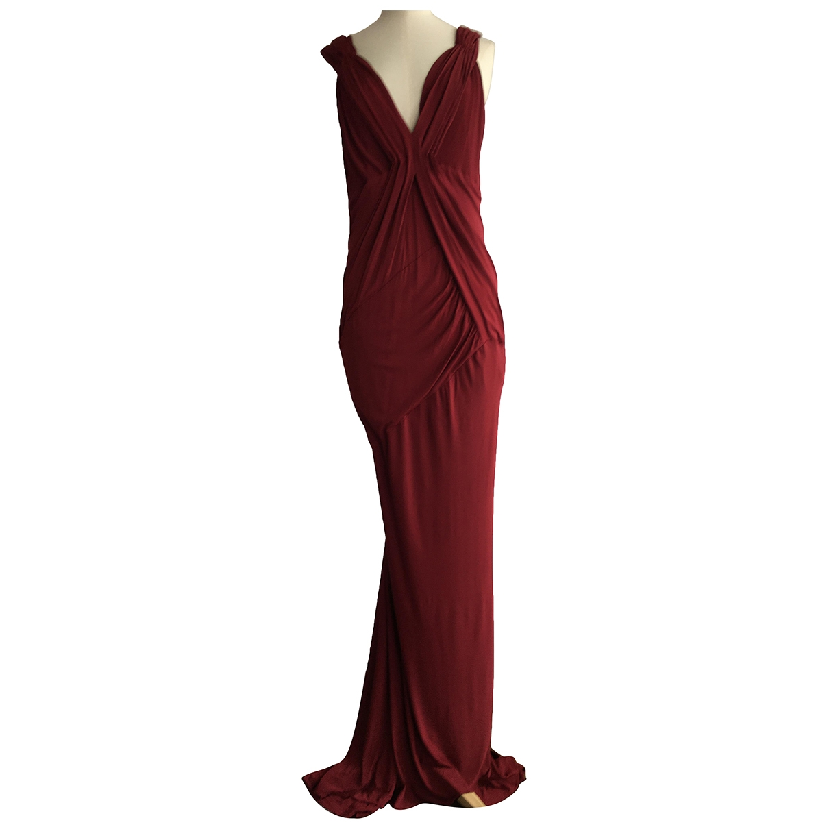 Maxi vestido Donna Karan