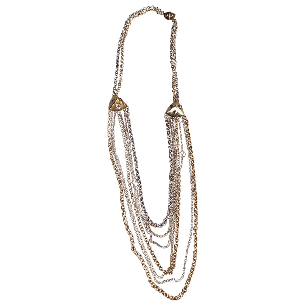 Louis Vuitton - Collier   pour femme en metal - dore