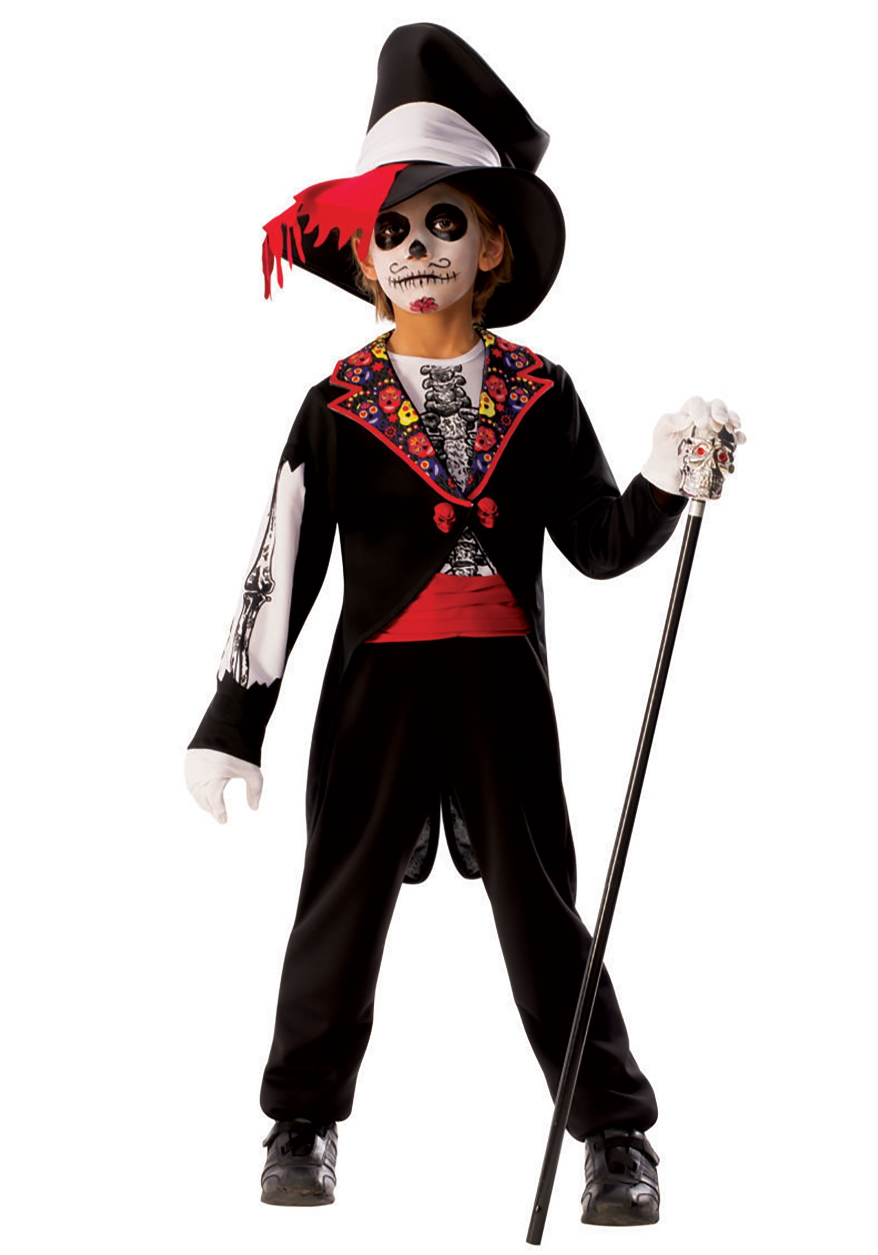 Day of the Dead Costume For Boys
