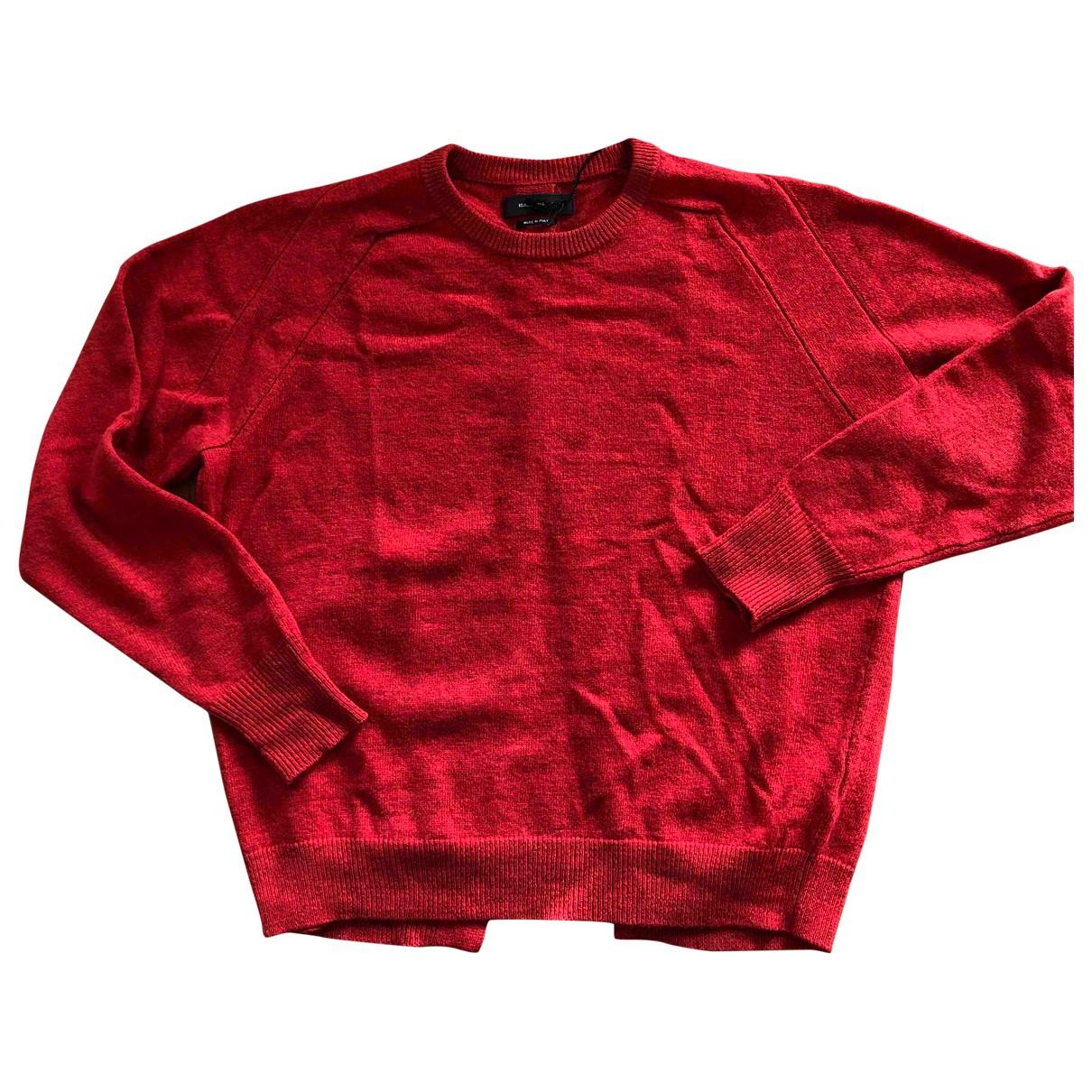 Isabel Marant - Pull   pour femme en laine - rouge