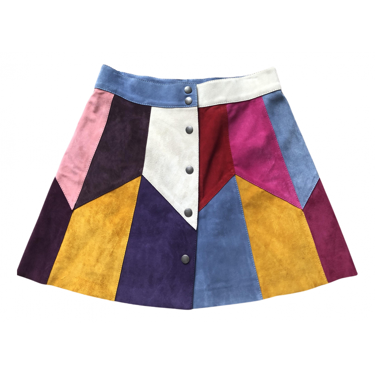 Marc Jacobs N Multicolour Suede skirt for Women 6 US