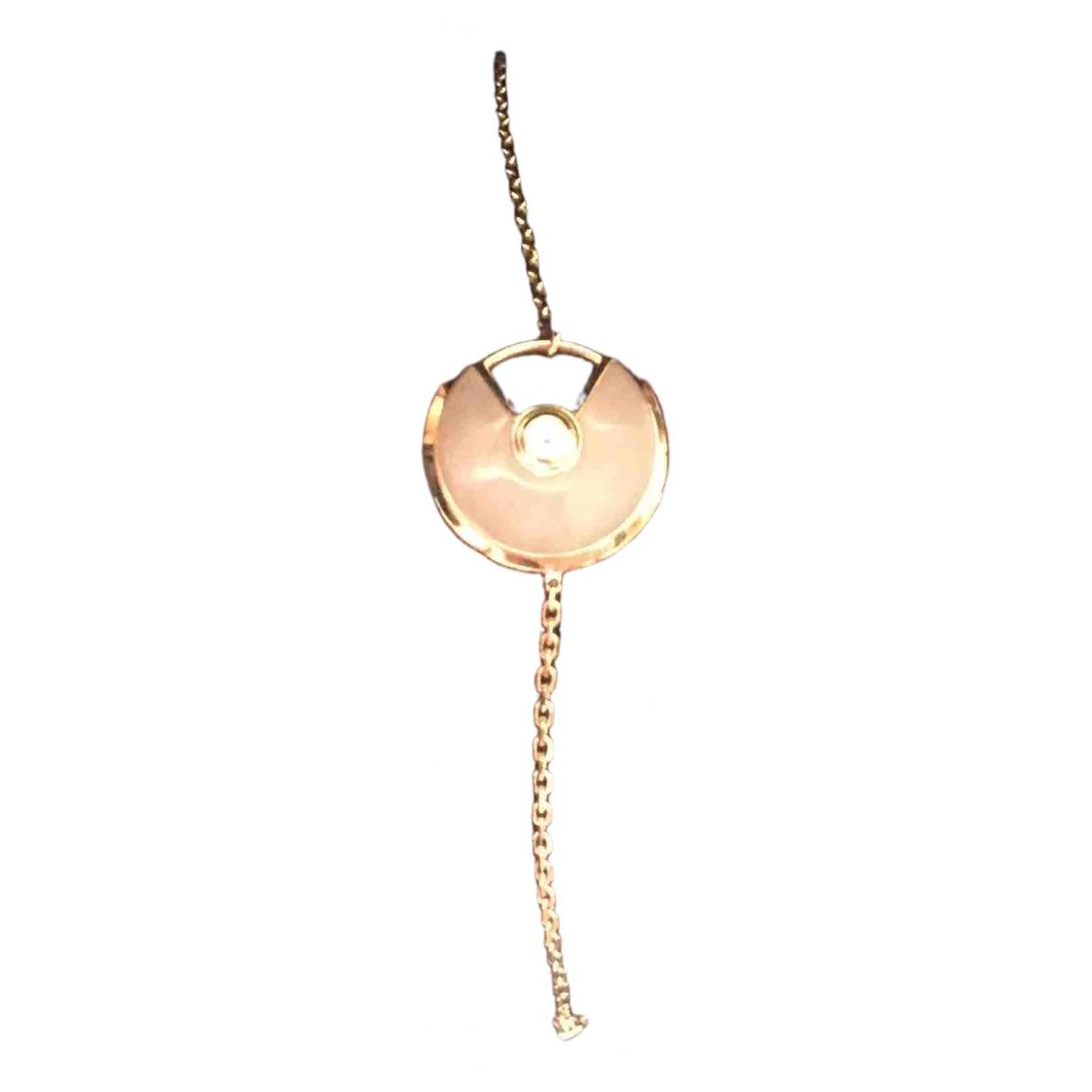 Cartier - Bracelet Amulette pour femme en or rose - dore