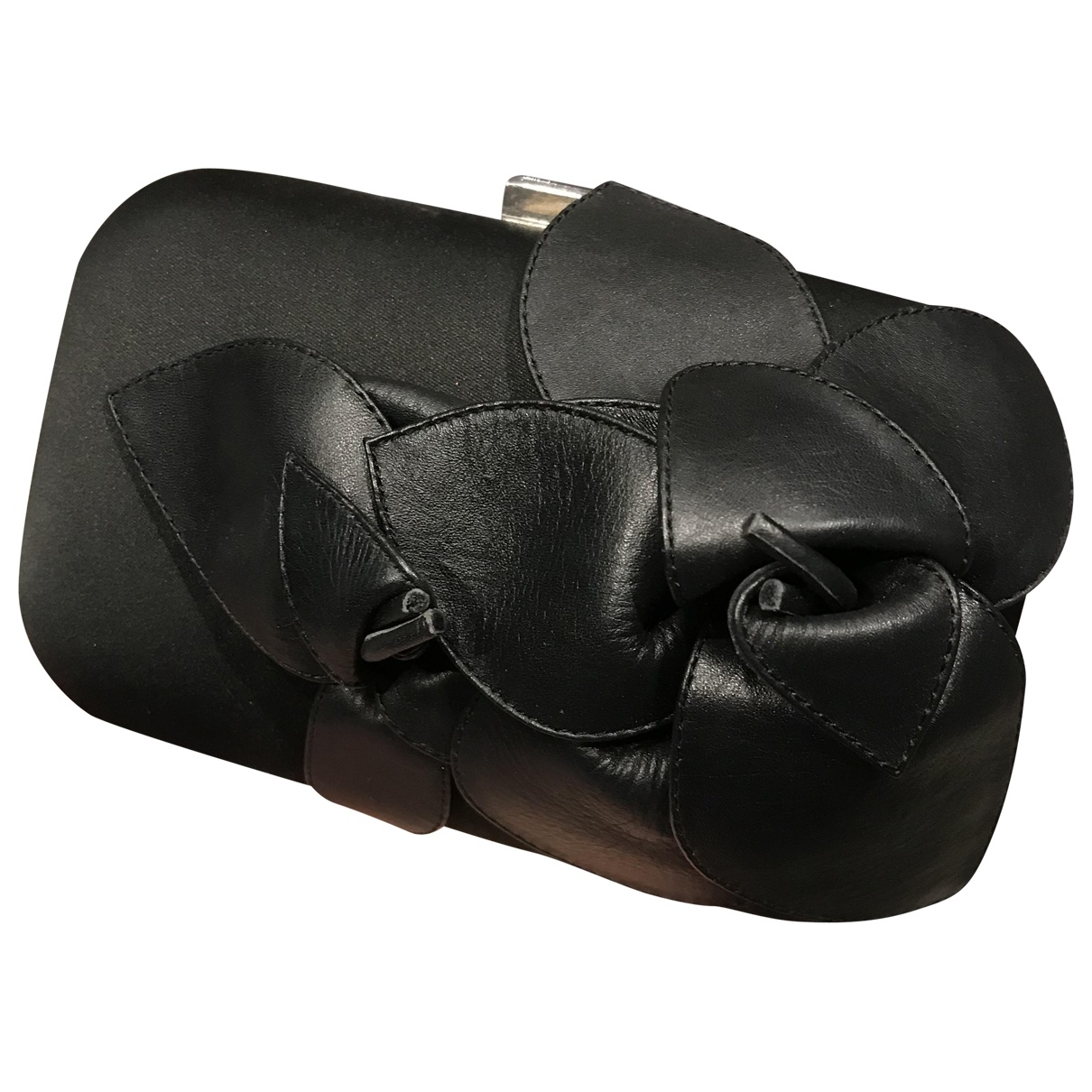Karen Millen \N Black Cloth Clutch bag for Women \N