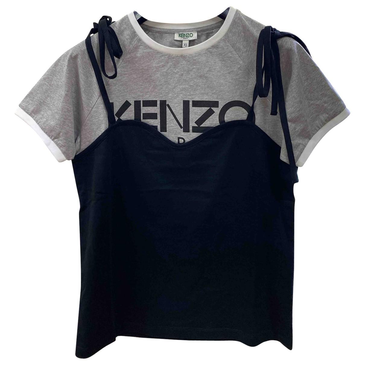 Kenzo \N Black Cotton  top for Women XS International