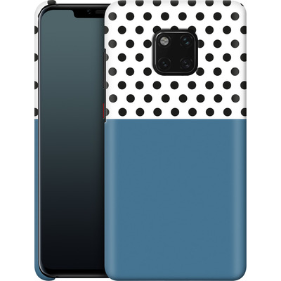 Huawei Mate 20 Pro Smartphone Huelle - Blue Dots von caseable Designs