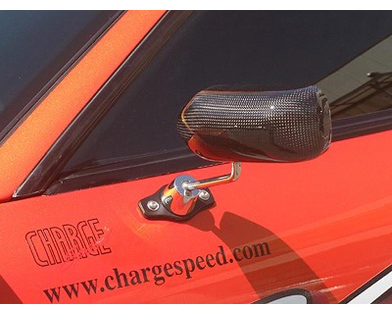 Chargespeed Super GT Carbon Aero Mirrors Toyota Supra JZA80 93-98