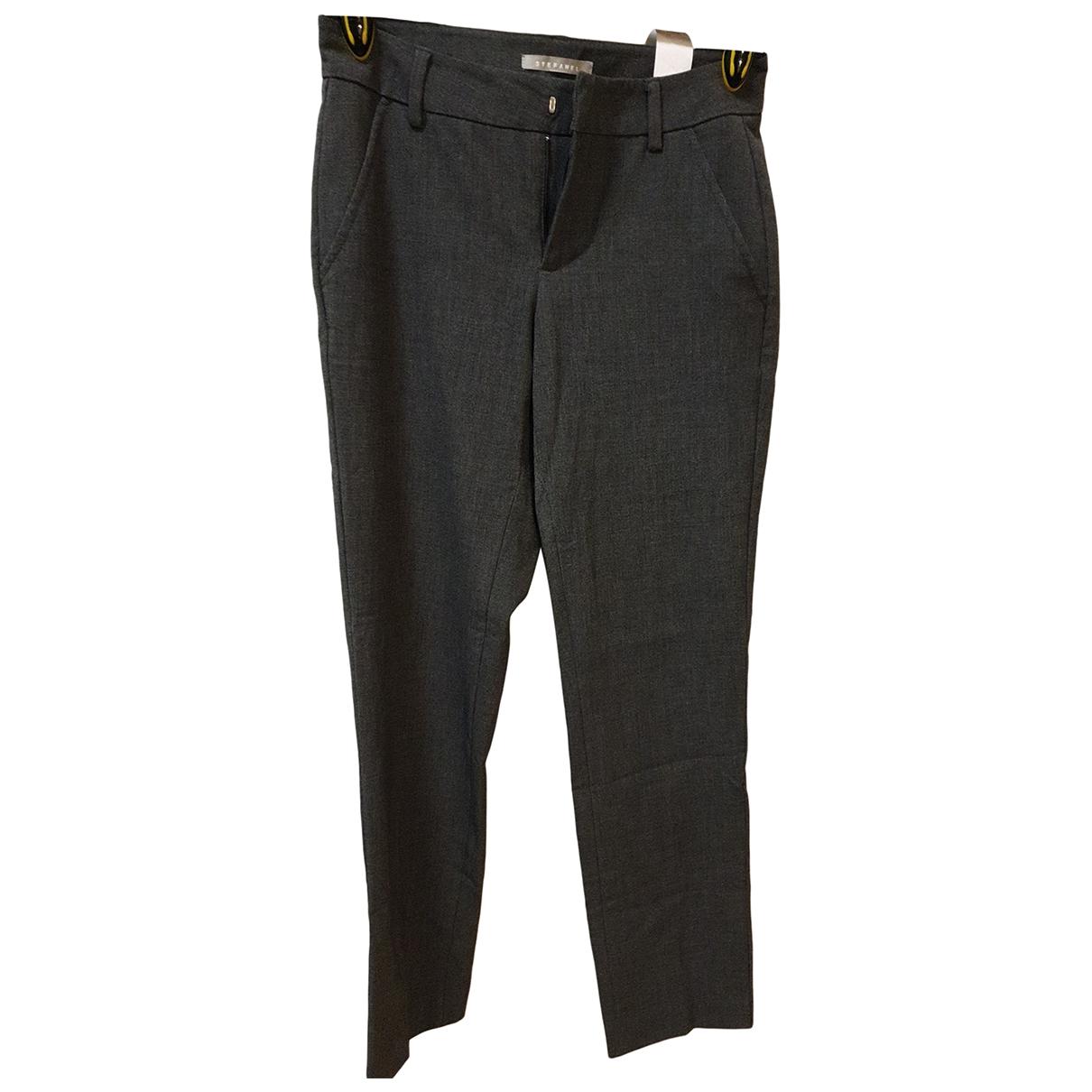 Stefanel - Pantalon   pour femme - gris