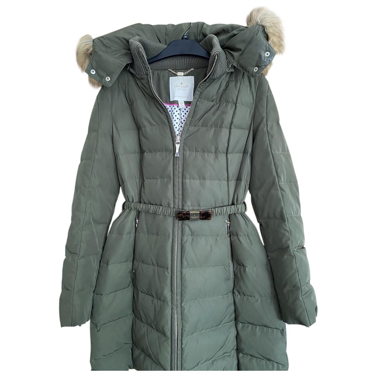 Kate Spade - Manteau   pour femme - vert