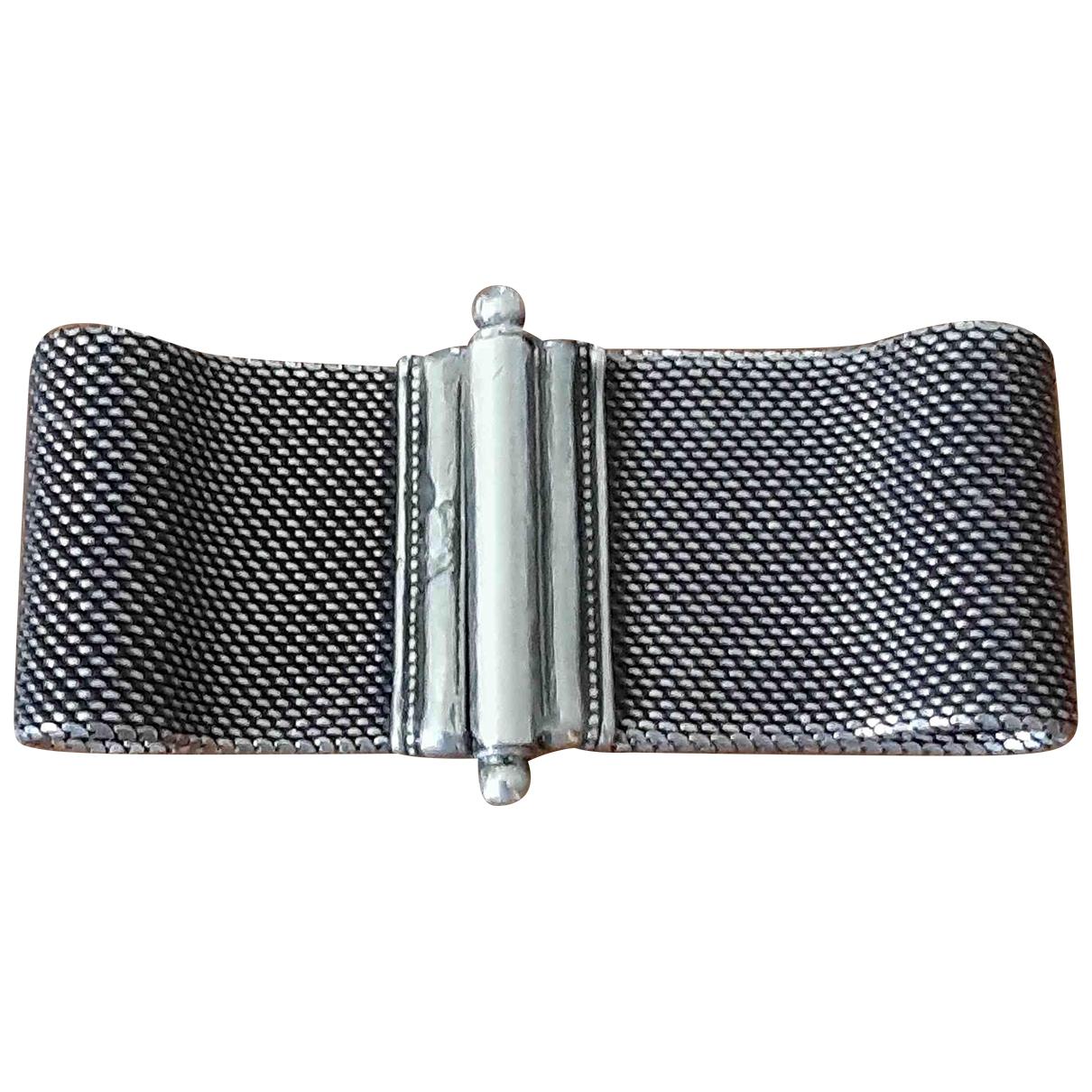 - Bracelet Manchette pour femme en argent - argente
