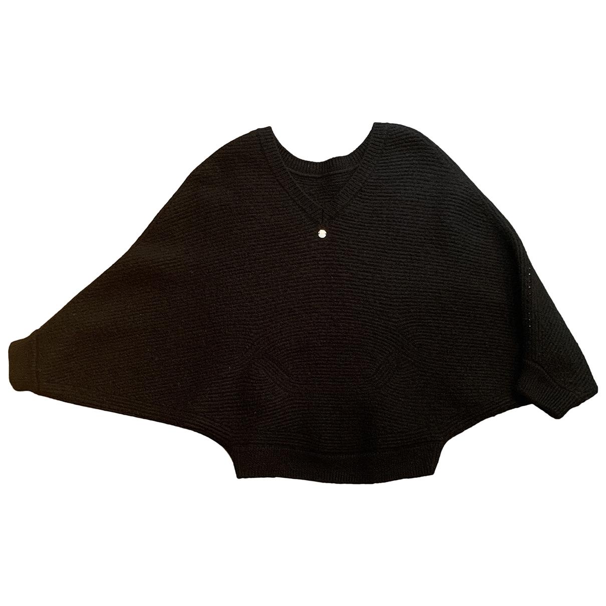 Escada - Pull   pour femme en laine - noir