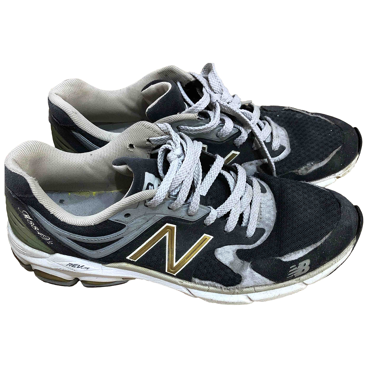 New Balance \N Black Cloth Trainers for Men 42.5 EU