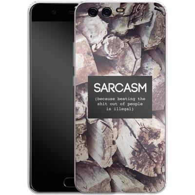 Huawei P10 Silikon Handyhuelle - Sarcasm von Statements